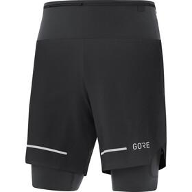 GORE WEAR Ultimate 2i1 shorts Herrer, sort